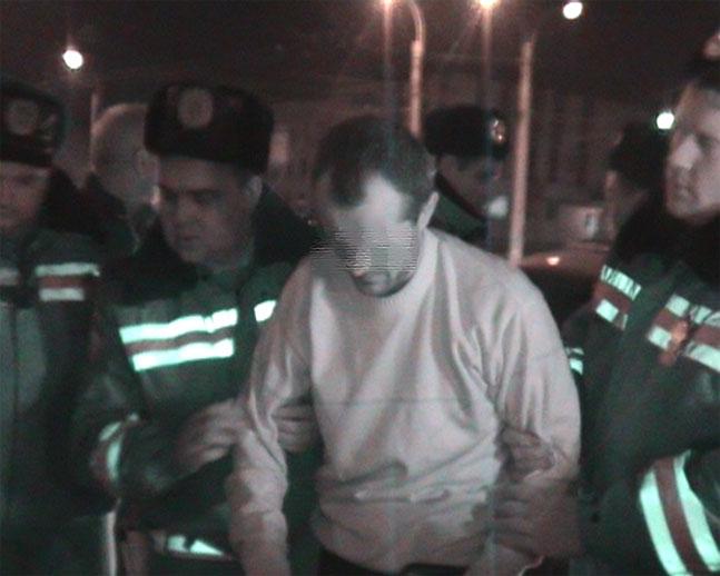 Задержанный лихач отказался разговаривать без адвоката