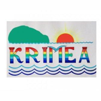 Вариант логотипа Крыма с ошибкой в написании