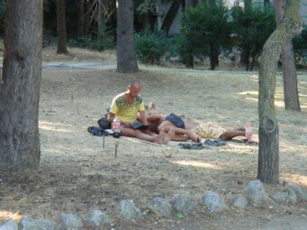 Первая в Украине зона Wi-Fi в Крыму