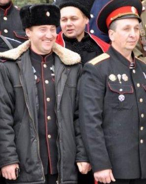 """Атаман бахчисарайского куреня"" Сергей Юрченко"