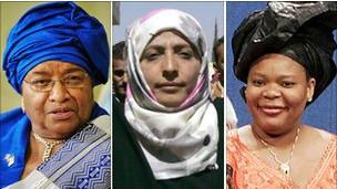 Премию мира разделят между тремя женщинами