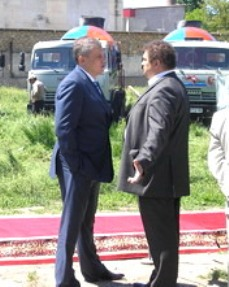 Крымский бизнесмен Сергей Бейм, владелец корпорации ТЭС, и депутат Александр Мельник