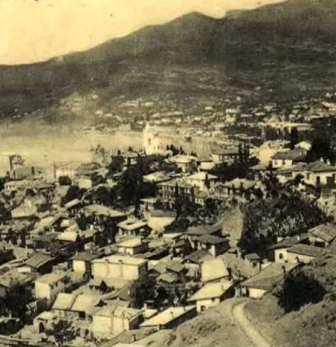 Старое фото Ялты
