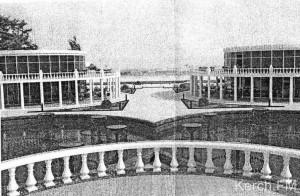 Фонтанный комплекс в Керчи