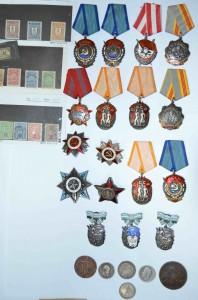ордена и марки