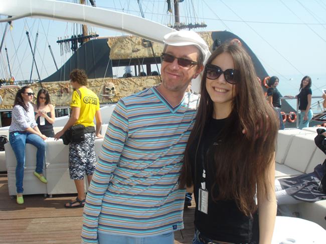 Джемиле Куртмуллаева с Сергеем Соседовым