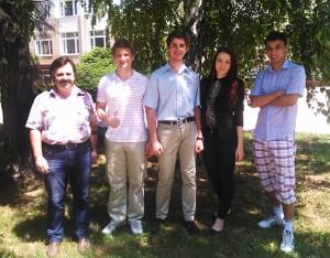 Симферопольские студенты