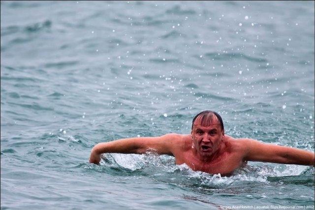 Олег Софяник не смог пробраться вплавь в Сирию. Фото - ВГороде