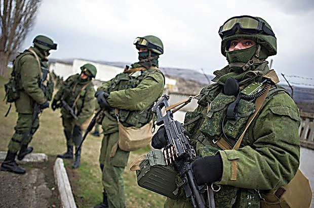 русские оккупанты