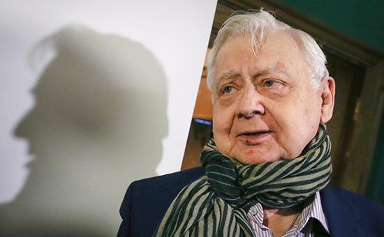 Олег Табаков. Фото ТАСС