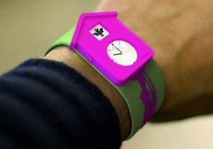 Наручные часы Nokia с кукушкой