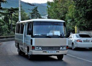 автобус тойота