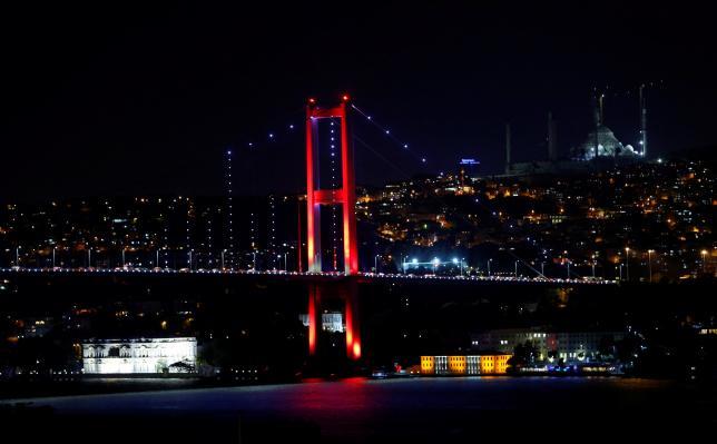 Мост в Стамбуле. Фото: REUTERS/Murad Sezer