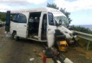 Под Ялтой легковушка протаранила пассажирский автобус. Есть жертвы (ФОТО)