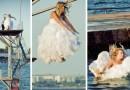 В Керчи новобрачные спрыгнули с 10-метровой вышки (ФОТО)