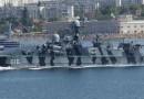 В Севастополе прошел совместный парад кораблей России и Украины