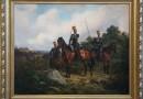 Украденную фашистами картину с крымскотатарскими офицерами вернули в Россию