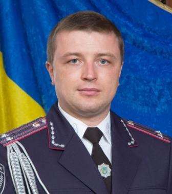 Заместитель начальника крымской милиции Владимир Недельский