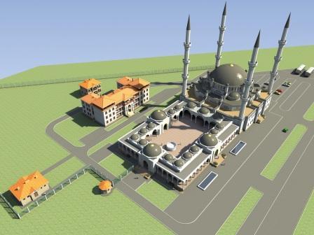 Победитель конкурса проектов соборной мечети