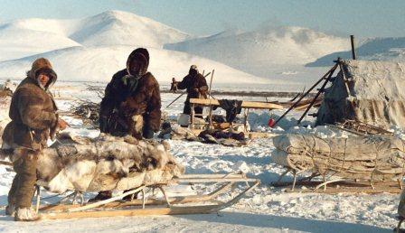 Село в Сибири