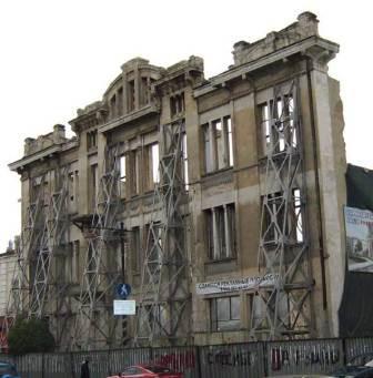 Остатки гостиницы Астория в Симферополе