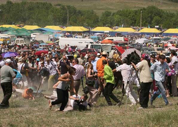 Инцидент во время празднования Хыдырлеза в Крыму
