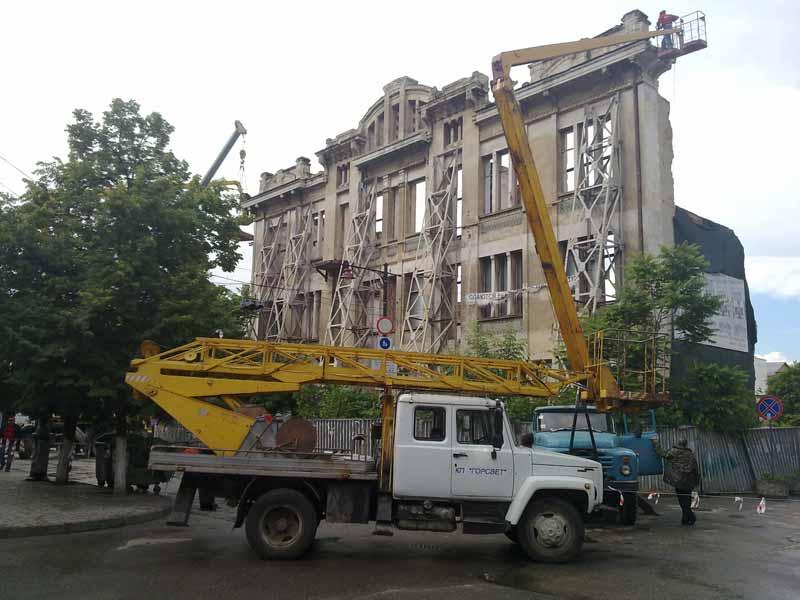 Симферопольскую гостиницу Астория сносят