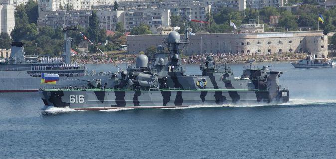 Совместный парад в Севастополе
