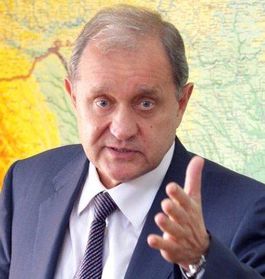 Анатолий Могилев и карта
