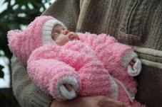 Дюймовочка родилась с весом всего 740 грамм