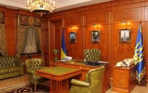 Кабинет Виктора Януковича в Межигорье