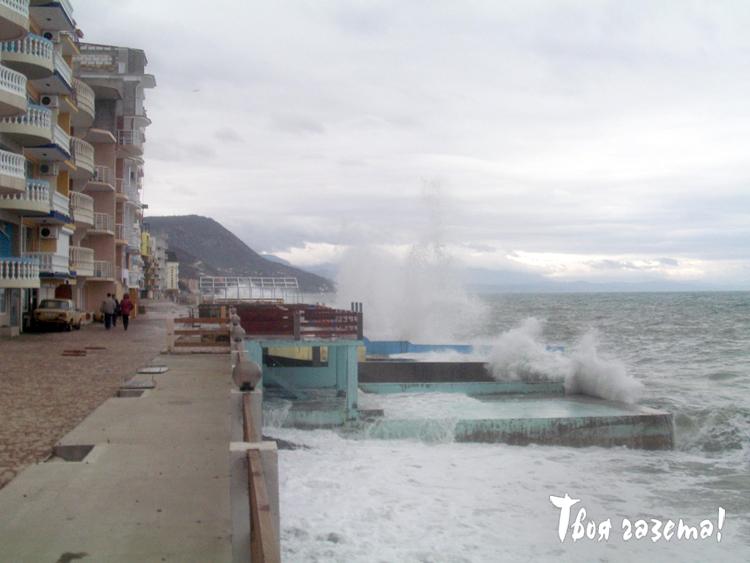 Шторм в Крыму
