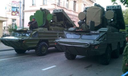военная техника в Севастополе