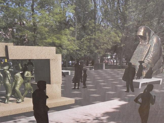 мемориал депортированным