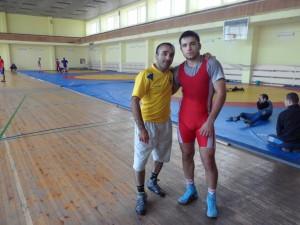 Эдем Гафаров с тренером