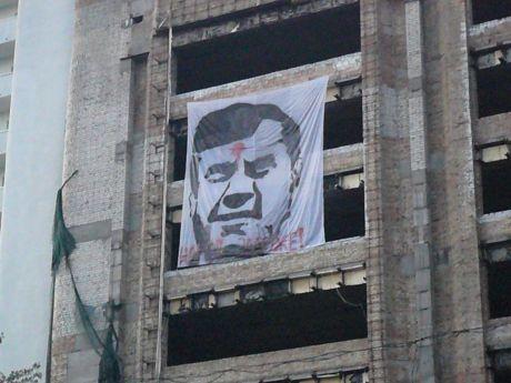 простреленный Янукович