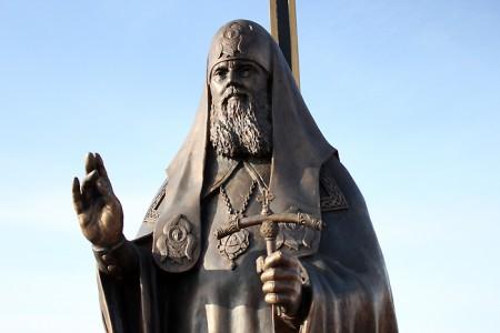 Памятник патриарху Алексию. Фото: vitebsk.cc