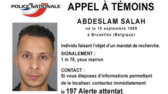 Подозреваемый в терактах Абдеслам Салах